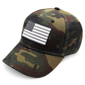 American Flag Hat - Camo - bbi Flags