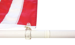 Flag Pole--Tangle Free, 6 ft with 1 inch diameter - bbi Flags
