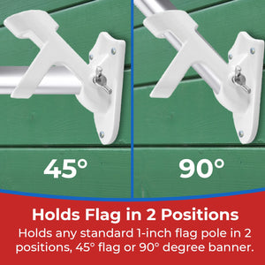 Heavy Duty Flag Pole Holder Bracket - bbi Flags