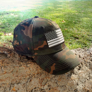 American Flag Hat - Camo ** BUY ONE GET ONE FREE!** - bbi Flags