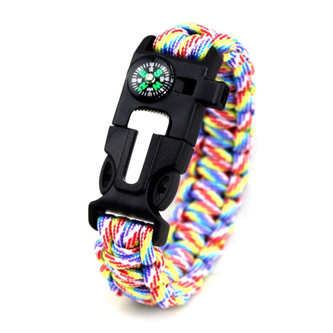 Survival Paracord 4mm Bracelet