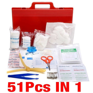 Multiple Piece First Aid Kit (39/46/51/79/121/180/300)