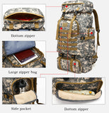 80L Waterproof Backpack