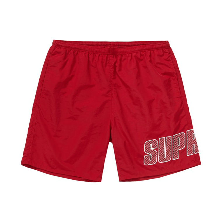 LOGO APPLIQUE WATER SHORT SS19