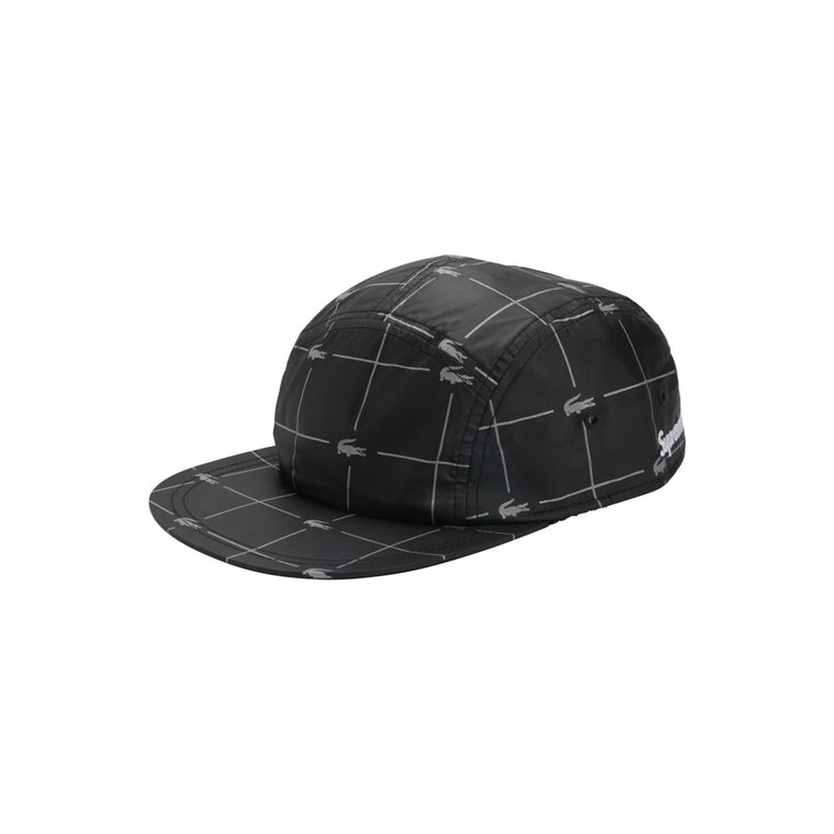 SUP/LACOSTE REFLECTIVE GRID NYLON CAMP CAP