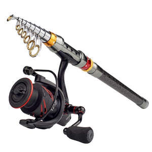 Telescopic Fishing Rod Reel