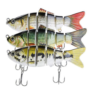 Rotating Spins Tail lure And Bionic Swimming Lure