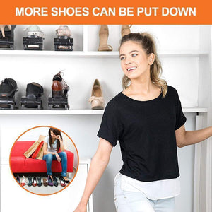 Adjustable Shoe Rack Space Saver