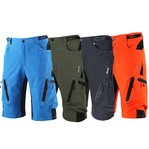 Arsuxeo M-XXL Men Cycling Shorts Outdoor Sports MTB Bike Ropa Breathable Loose Fit For Running Bicycle Shorts Bicicleta Ciclismo