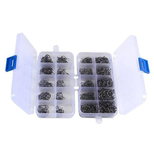 100-600pcs/Box Fishing Hooks