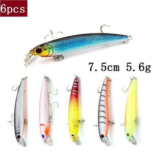 Fishing Lure Wobblers JerkBait Artificial Bait Set