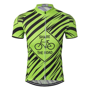 2019 Cycling Jersey Men's bike jerseys Summer Short slleve bicycle Ropa Ciclismo maillot road MTB mountain Tops Blouse Green
