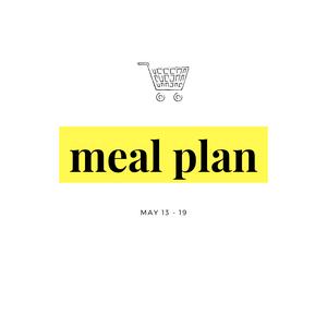 Mother's Day Meal Plan