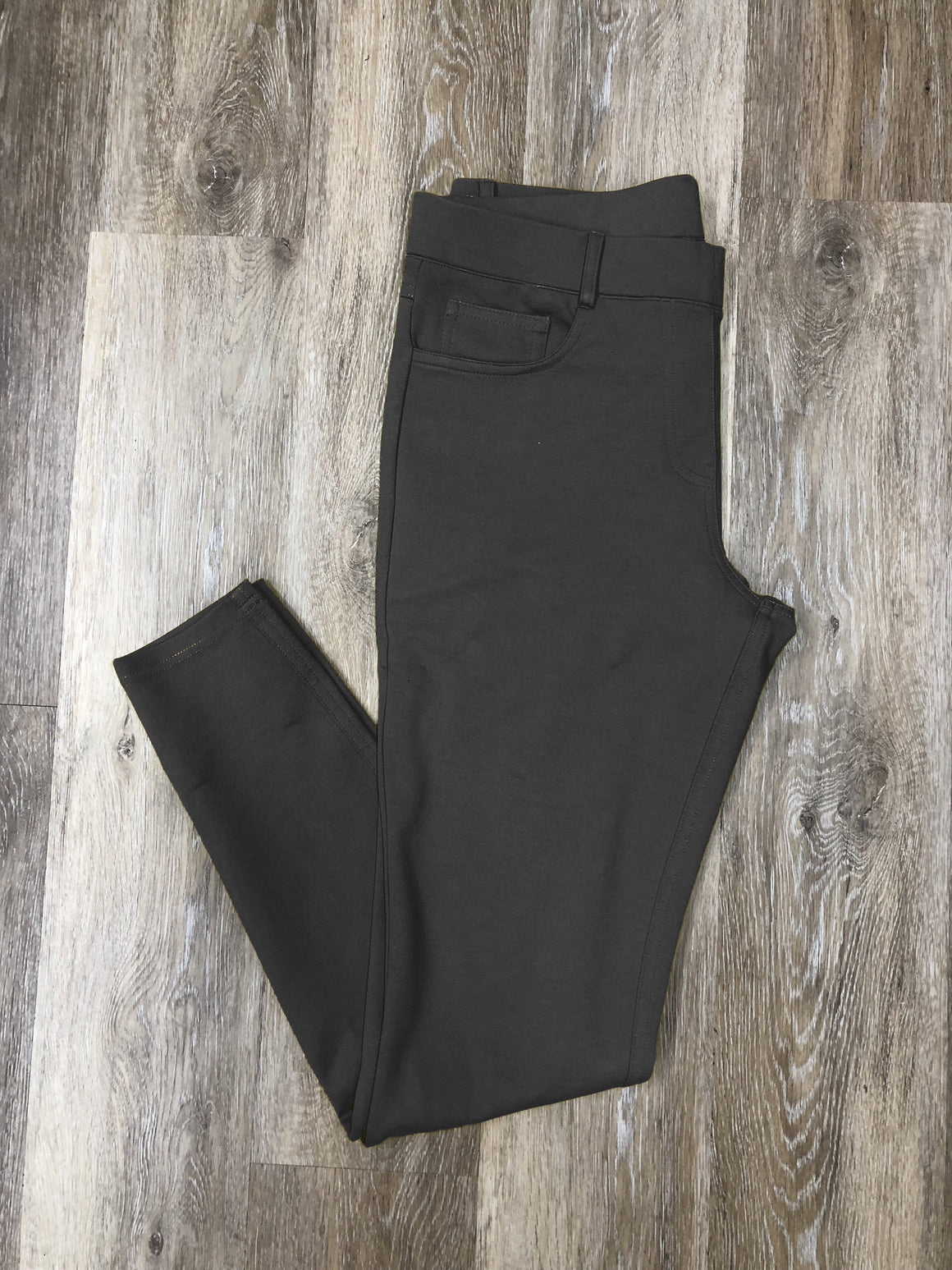Charcoal Colored Skinnies - Warehouse Apparel