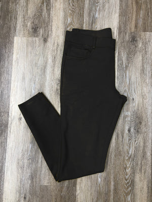 Black Colored Skinnies - Warehouse Apparel