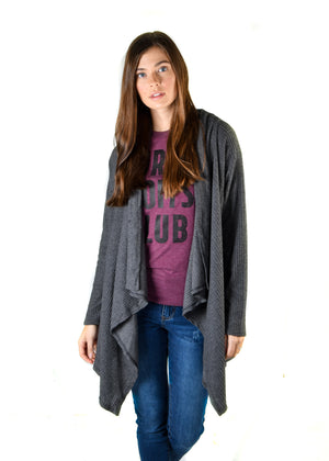 Hacci Draped Cardigan