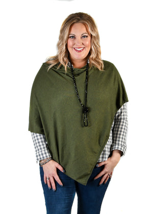 Evergreen Poncho