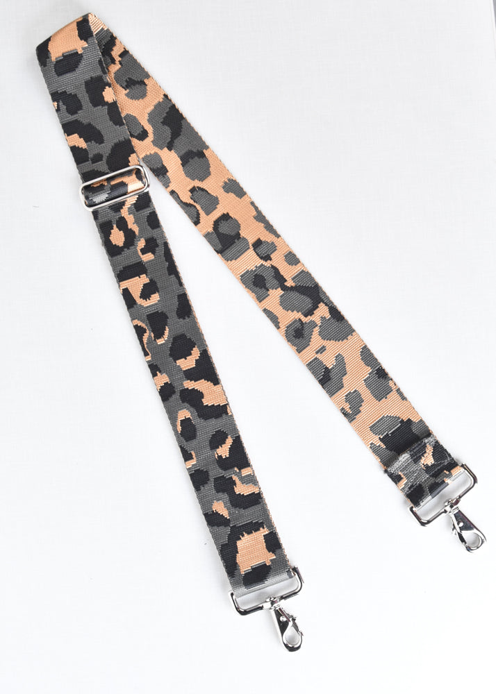 Adjustable Leopard Bag Strap