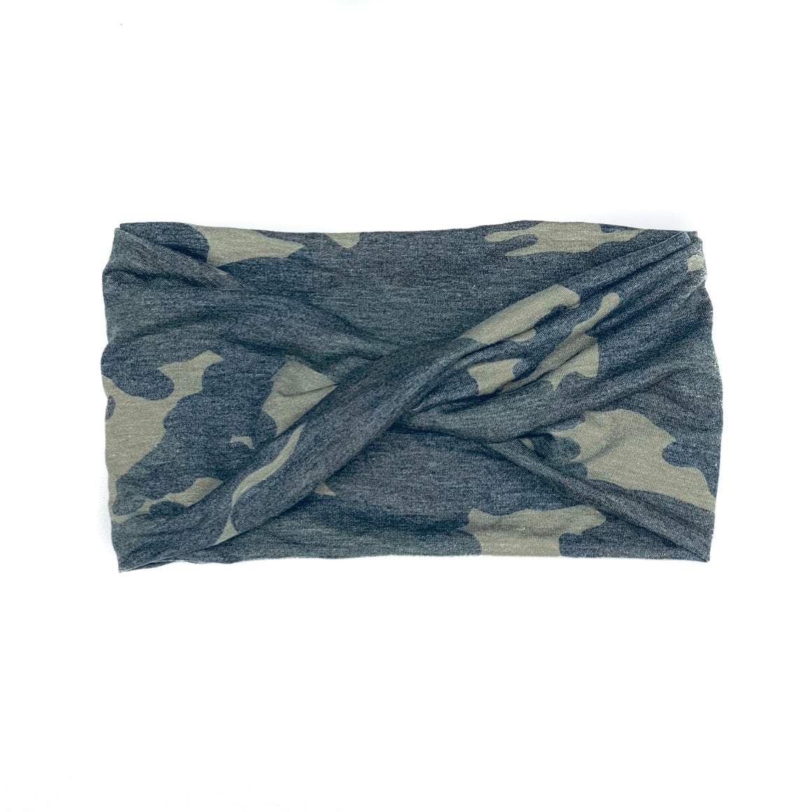 Camo Wide Twist Headband
