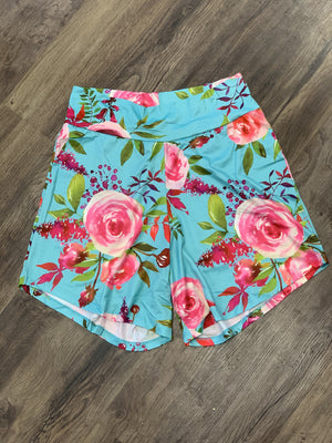 Summer lounge shorts floral