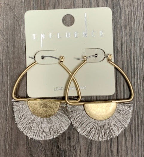 Fringe Crescent Hoops