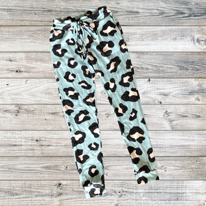 Mint Cheetah Jogger