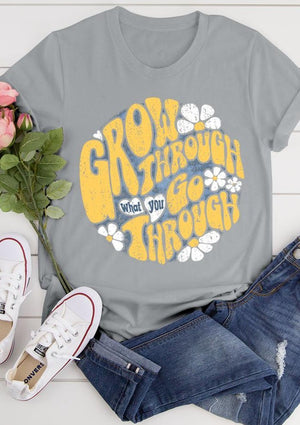 Grow Through Tee