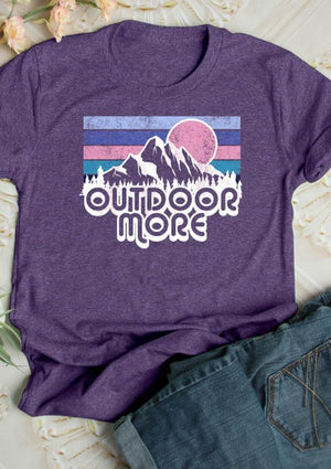 Outdoor More Tee