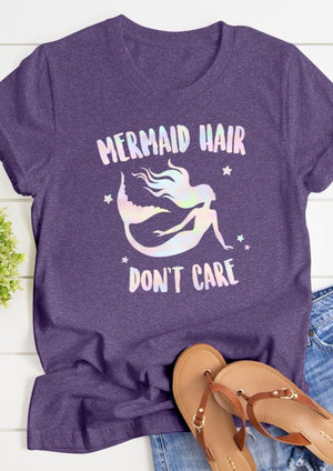 Mermaid Hair Tee
