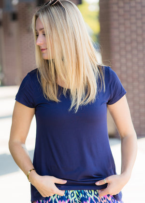 Navy Favorite Tee