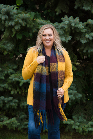 Large Cozy Blanket Scarf