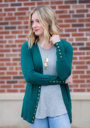 Holly Snap Cardigan