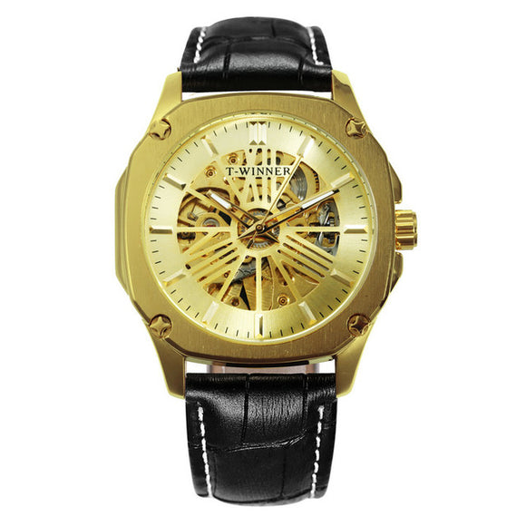 T-Winner Gustin Automatic Mechanical Men Watch