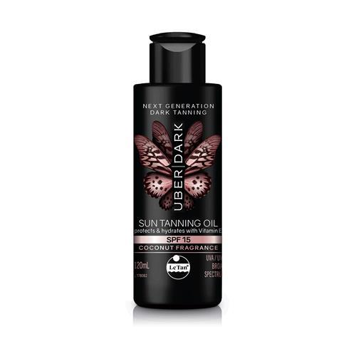UBER DARK SPF15 SUN TANNING OIL 120ML