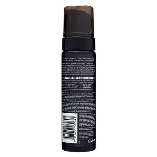 UBER STAY SELF TANNING FOAM ASH BASE 200ML