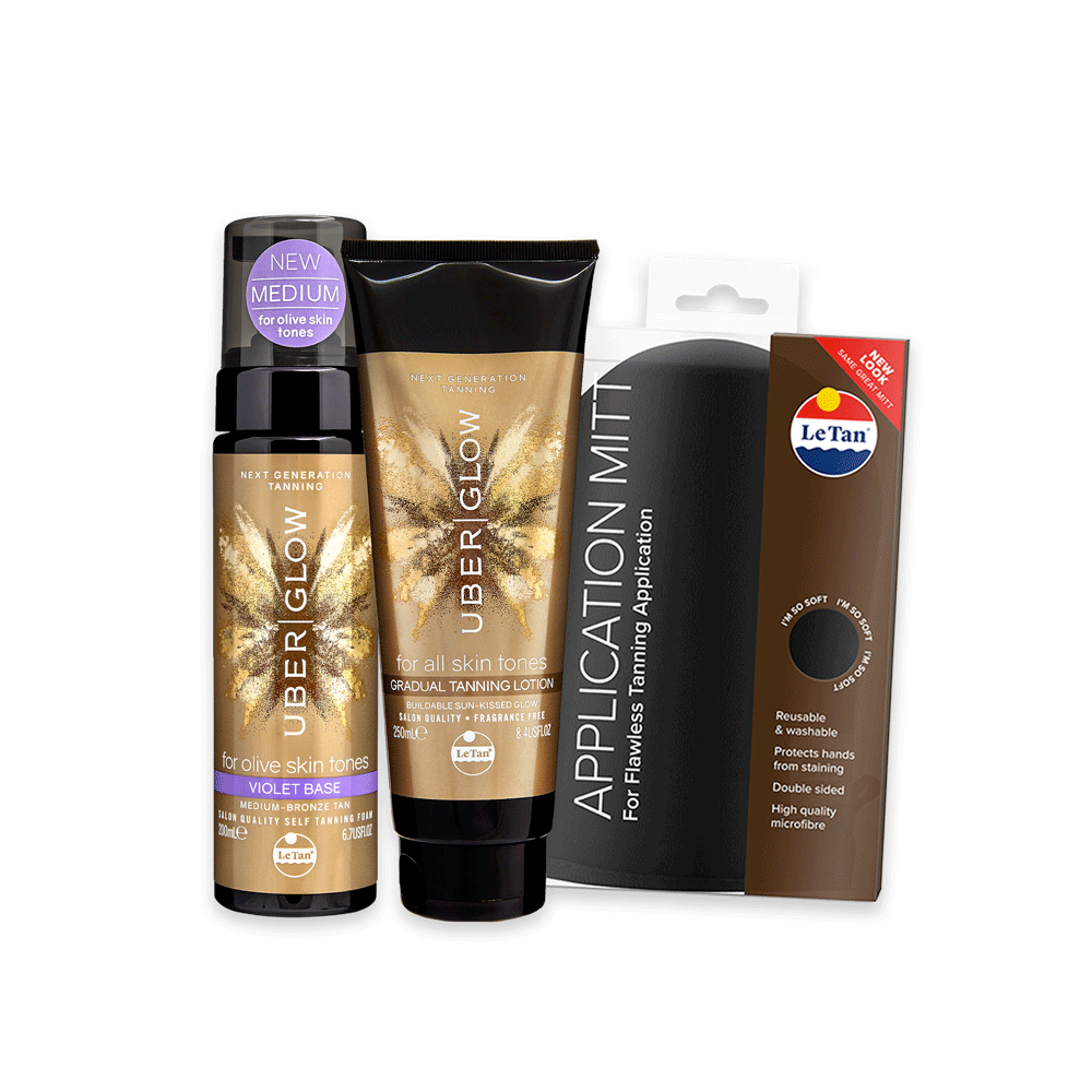 Glow Up Tanning Pack - Violet
