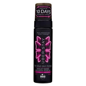 UBER STAY SELF TANNING FOAM VIOLET BASE 200ML