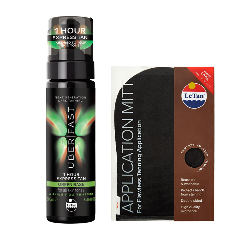 UBER FAST TANNING BUNDLE - GREEN
