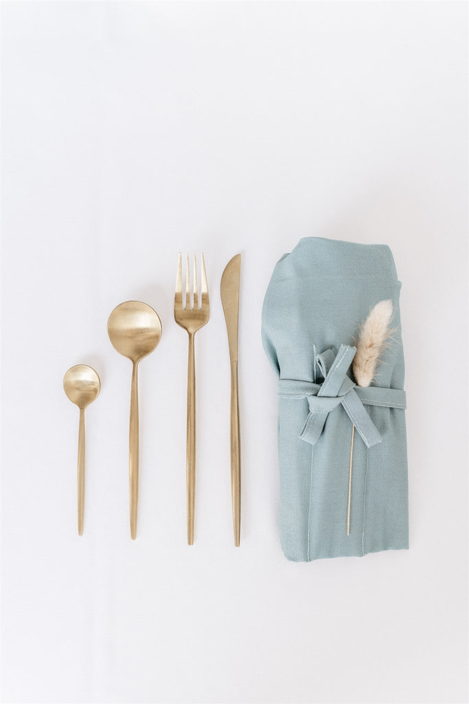 Set of 8 Shanghai Cutlery Gold PREORDER