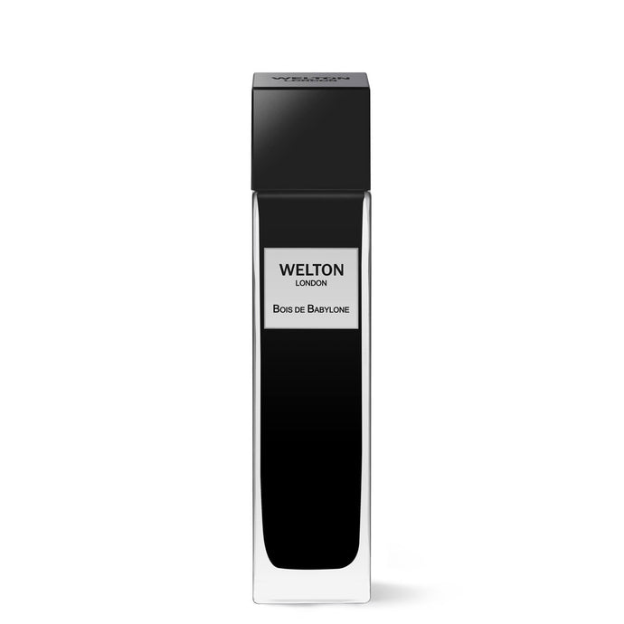 luxury niche brand black cubic design minimalist style woody leather fragrance bois de babylone luxury collection high quality eau de parfum unisex perfume brand