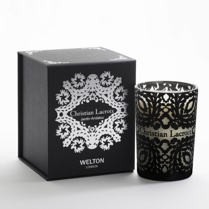 luxury scented candle jardin particulier christian lacroix welton london citrus spicy scent high quality home fragrance to match your interior limited edition capsule collection
