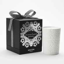 Load image into Gallery viewer, luxury scented candle montmajour christian lacroix welton london woody amber scent high quality home fragrance to match your interior limited edition capsule collection