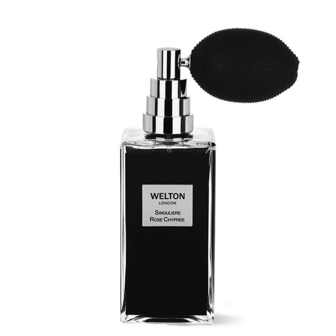 luxury niche brand black cubic design minimalist style chypre floral fragrance singuliere rose chypree shadow and light collection high quality 200ml eau de toilette unisex perfume brand vintage pump