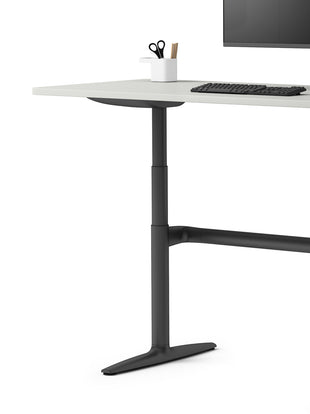 Atlas desk at standing height