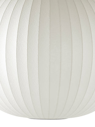 Detailed view of the bubble lamp material