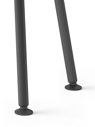 Close up of Memo desk legs