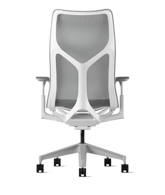 Cosm High Back Chair *White and Mineral