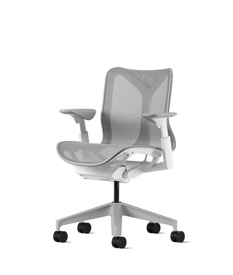 Cosm Low Back Chair *White and Mineral