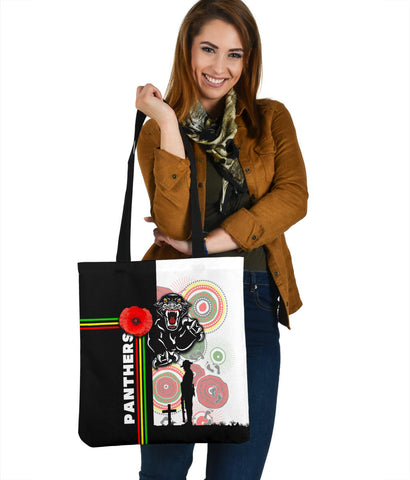 Penrith Panthers Tote Bag Anzac Day Power Style
