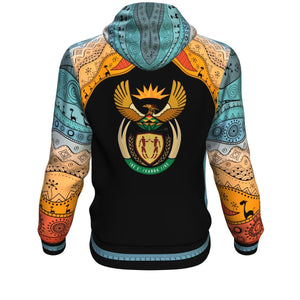 Coat of Arms South Africa All Over Hoodie 2 K4